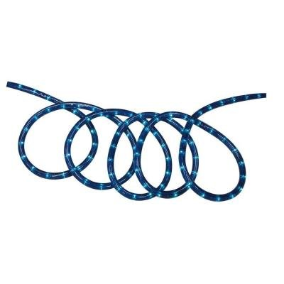 SOLAR ROPE LIGHT 18' BLUE
