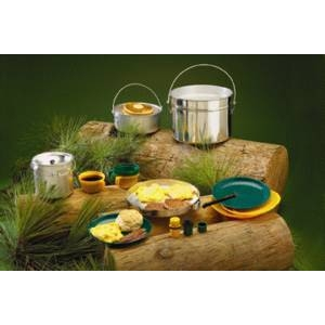 Alum Cook Set, 4 Person