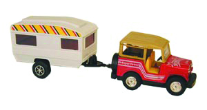 Jeep & Trailer Toy