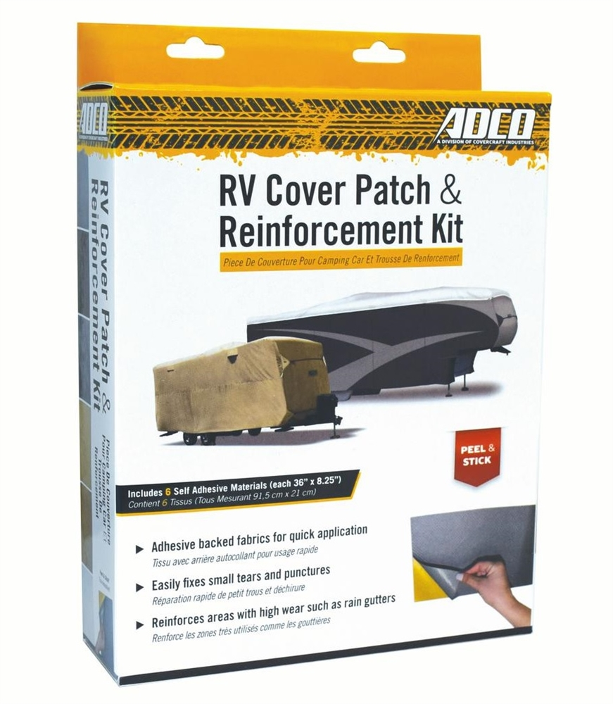Universal RV Cover Patch Kit